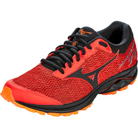Mizuno Wave Rider TT Trail Running Schuhe Herren high risk red/black/red orange